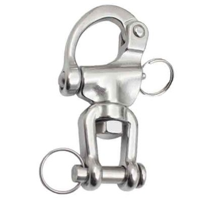 Jaw Swivel Snap Shackle|Snap Shackle with Swivel Fork & Clevis Pin