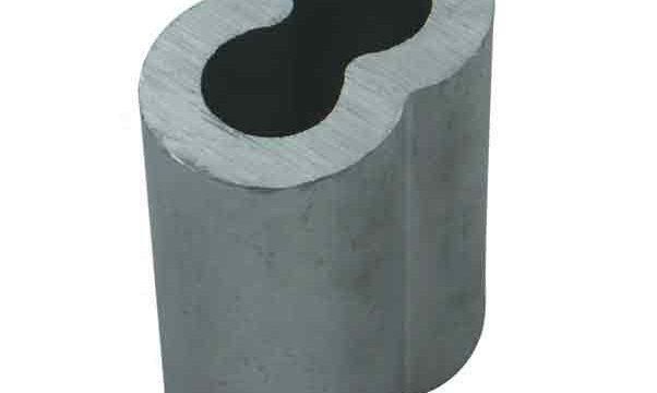 Aluminum Double Barrel Ferrules|Hourglass Ferrules|Sleeves