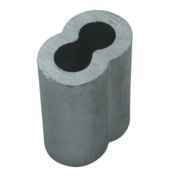 Aluminum Double Barrel Ferrules