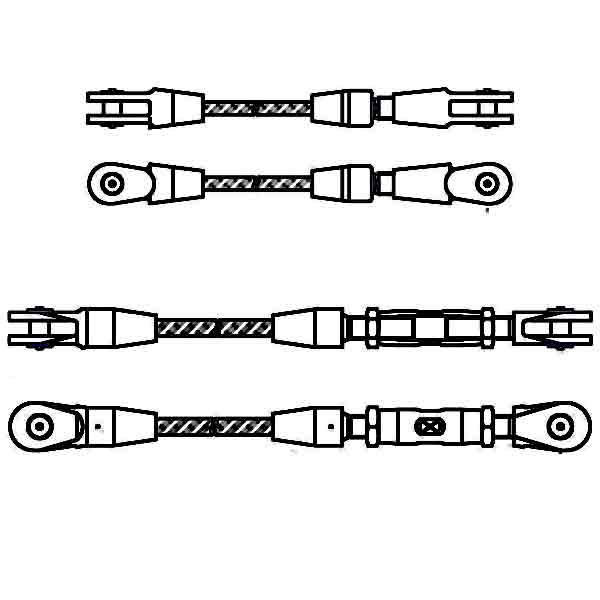 socket wire rope slings