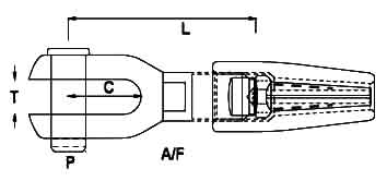Swageless Fork Diagram