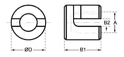 Adjustable Cross Wire Clamp Diagram