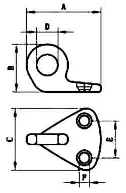 Anchor Eye Diagram