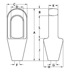 Closed Spelter Socket Diagram