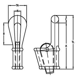 Closed Wedge Socket Diagram