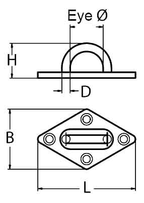 Diamond Eye Plate Diagram