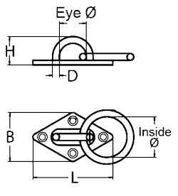 Diamond Ring Eye Plate Diagram