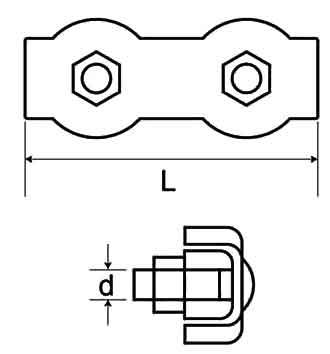 Duplex Wire Rope Grip Diagram