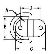 Folding Eye Plate Diagram