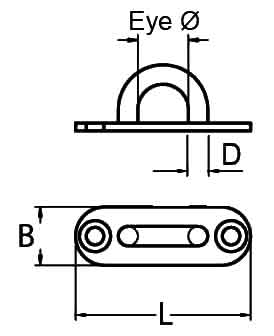 Long Eye Plate Diagram