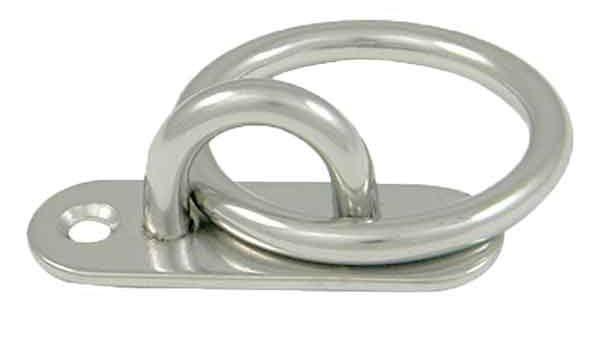 Long Ring Pad Eye|Stainless Steel