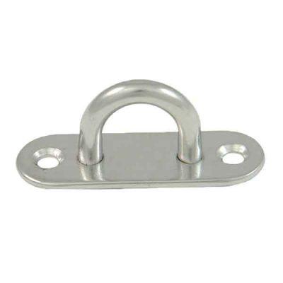 Oblong Pad Eye|Long Deck Plate|Eye Plate|Stainless Steel