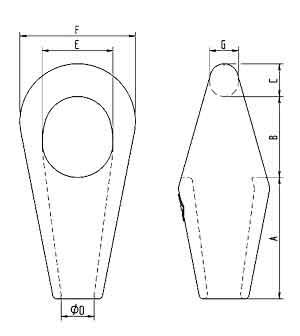 Rope Pear Sockets Diagram