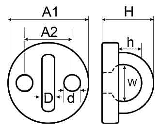 Round Eye Plate Diagram