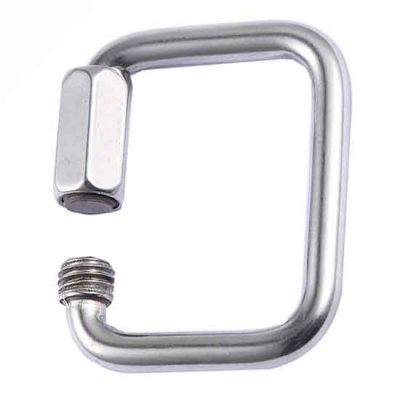 Square Quick Link|Webbing Quick Link|Stainless Steel