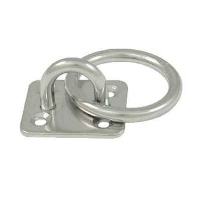 Square Ring Pad Eye|Square Ring Deck Plate|Stainless Steel