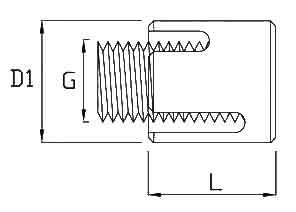 Wire Rope Cross Clamp Diagram