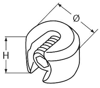 Wire Rope Stopper Diagram