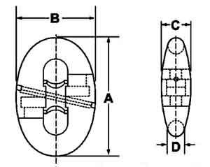 U3 Kenter Shackle Diagram