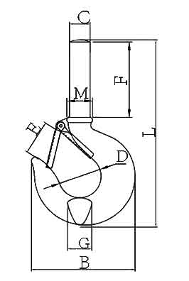 S-319 Shank Hook Diagram